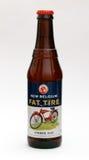 Grosse bière de pneu Photos libres de droits