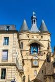 Grosse cloche, ένα μεσαιωνικό καμπαναριό στο Μπορντώ, Γαλλία Στοκ εικόνες με δικαίωμα ελεύθερης χρήσης