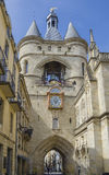 Grosse Cloche bell tower, Bordeaux Stock Photography