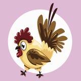 Grosse poule illustration stock