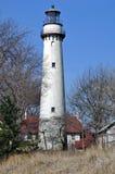 Grosse Punkt-Leuchtturm Lizenzfreie Stockfotos