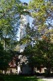 Grosse punkt Lighhouse Arkivfoto