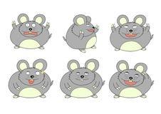 Grosse souris illustration de vecteur