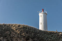 Grosse Terre lighthouse in Saint Hilaire de Riez, France Royalty Free Stock Photography
