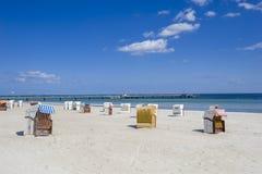 GROSSENBRODE, ALEMANIA - 25 DE MAYO DE 2011: La playa del sur en Großen Imágenes de archivo libres de regalías