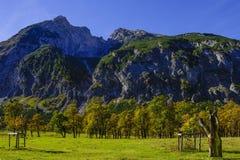 Grosser Ahornboden, Tirol, Austria Obrazy Royalty Free