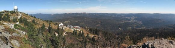 Grosser Arber in Bayerischer Wald Stock Photography