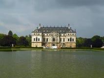 Grosser Garten w Drezdeńskim pałac Zdjęcie Stock