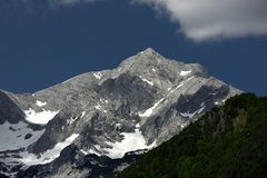 Grosser Priel, Totes Gebirge, Oberosterreich, Austria royalty free stock photography
