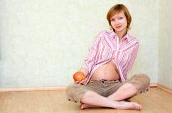 Grossesse saine photo libre de droits