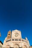 Grosseto ο καθεδρικός ναός είναι Ρωμαίος - καθολικός καθεδρικός ναός Grosseto Στοκ Εικόνες