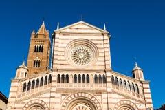 Grosseto-Kathedrale ist eine römisch-katholische Kathedrale in Grosseto lizenzfreies stockfoto