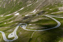 Grossglocker alpine road Stock Image