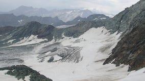 grossglockner美好的风景在tauern的hohe的 股票视频