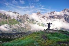 Grossglockner Österreich - Berglandschaft lizenzfreies stockbild