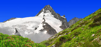 Grossglockner. National Park Hohe Tauern, Austria Royalty Free Stock Image