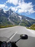 Grossglockner Alpine Road. Royalty Free Stock Images