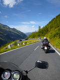 Grossglockner Alpine Road. Stock Image