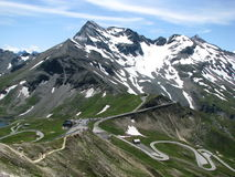 Grossglockner in Alps Royalty Free Stock Photography