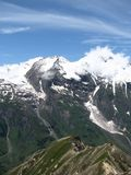 Grossglockner in Alps Stock Photo