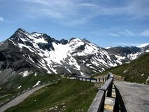 Grossglockner in Alps Royalty Free Stock Images