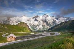 Grossglockner - alta strada alpina Fotografia Stock Libera da Diritti