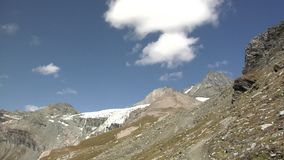 Grossglockner and Teischnitz valley stock footage