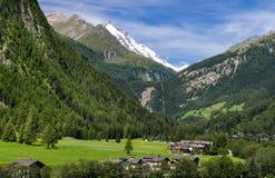 Grossglockner in Austria, alpi europee Immagini Stock