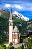 Grossglockner in Austria, alpi europee Immagine Stock