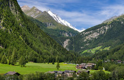 Grossglockner in Austria, European Alps Stock Images