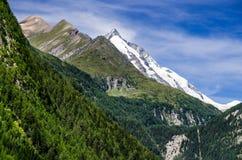 Grossglockner in Austria, European Alps Royalty Free Stock Photo