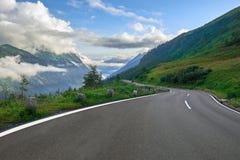 Grossglockner Austria - strada della montagna Immagini Stock Libere da Diritti