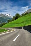 Grossglockner Austria - strada della montagna Fotografia Stock Libera da Diritti