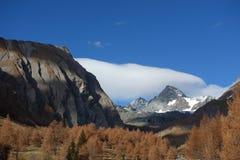 Grossglockner 3798 - dröm- climberÂs royaltyfri foto