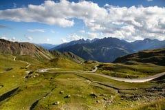 Grossglockner Droga Wysoka Alpejska Zdjęcie Stock