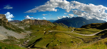 Grossglockner Droga Wysoka Alpejska Zdjęcie Royalty Free