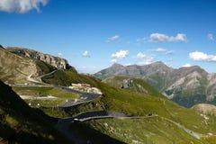 Grossglockner Droga Wysoka Alpejska Zdjęcia Royalty Free