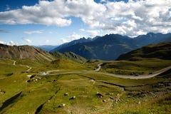 Grossglockner Droga Wysoka Alpejska Obrazy Royalty Free