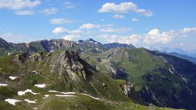 Grossglockner Droga Wysoka Alpejska. Austria Fotografia Stock