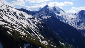 Grossglockner Droga Wysoka Alpejska. Austria Zdjęcie Royalty Free