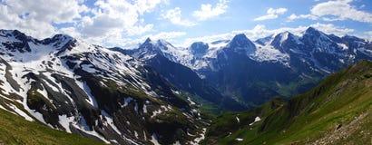 Grossglockner Droga Wysoka Alpejska. Austria Obraz Royalty Free