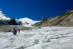 Grossglockner glacier Stock Photography
