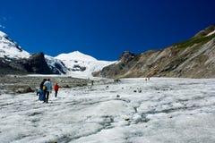 Grossglockner glacier Stock Photography