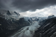 Grossglockner Glacier, Alps Stock Images