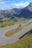 Grossglockner High Alpine Road royalty free stock photo