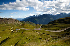Grossglockner High Alpine Road Royalty Free Stock Images