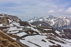 Grossglockner High Alpine Road, Austria Royalty Free Stock Image