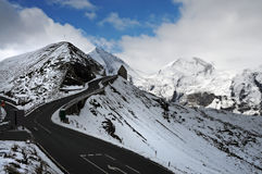 Grossglockner  high alpine road Stock Photo