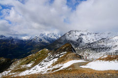 Grossglockner  high alpine road Stock Image
