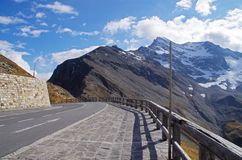 Grossglockner High Alpine Road Royalty Free Stock Photos